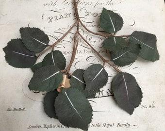 Vintage Millinery leaves