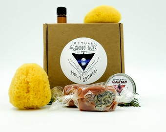 Ritual Sponge Kit with Salted Caramels
