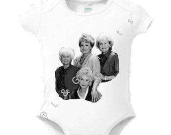 Golden girls baby, Golden girls gifts, Golden girls kids,Baby shower gift girl,Sophia Dorothy Blanche,Sophia petrillo,Rose Nylund, 80s gifts