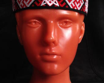 Man headband The Svarog's Star