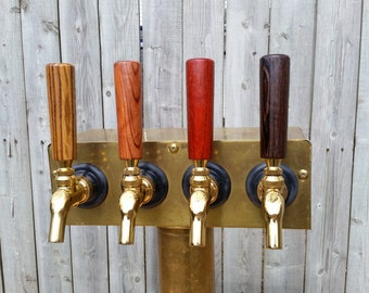 "4"" exotic wood Tap Handle"