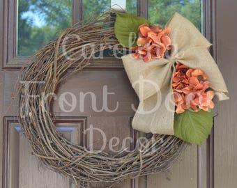 NEW! Fall Wreath, Fall Monogram Wreaths, Farm House Wreaths, Fall Door Wreath, Autumn Wreaths, Fall Wreaths, Fall Door Wreaths