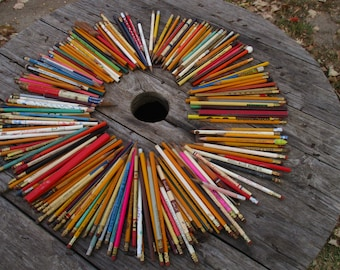220 Vintage Pencils Advertising Signs Arts Crafts Folk Art Wood Projects Store b, Arts and Crafts, Advertising Pencil, Advertising Pens