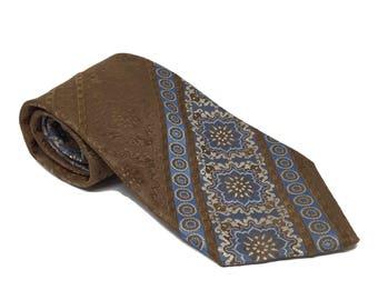 Wide 1970s Retro Tie by Schiaparelli