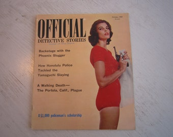 Official Detective Stories - October 1959 - high grade