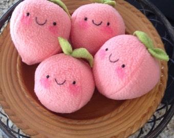 Sweet Georgia Peach plush stuffed food