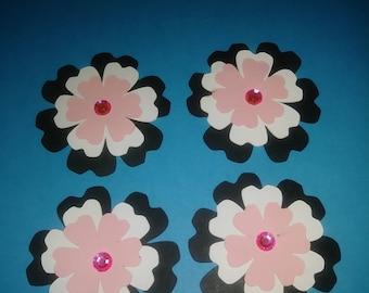 Jumbo flower magnets
