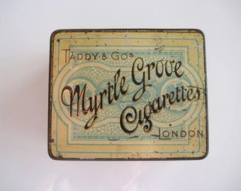 Taddy's Myrtle Grove Cigarette Tin (50/empty) c.1895