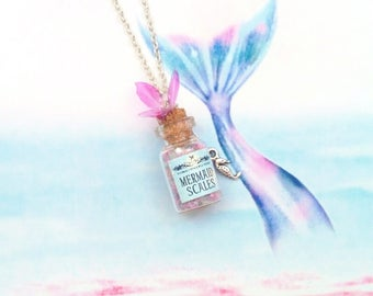 necklace magic potion mermaid scales