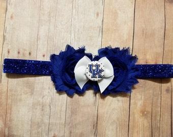 University of kentucky headband-kentucky headband-Kentucky for baby-Kentucky for teen-Kentucky for newborn-Kentucky for toddler