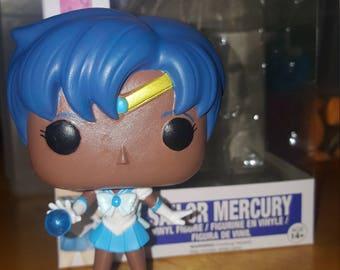 Sailor Mercury #91 - Brown Skin
