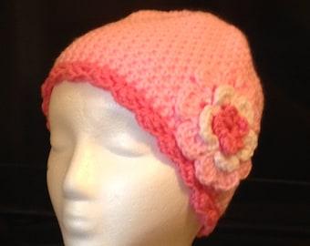 Hat/ Chemo Cap, Pink