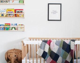 Mini Color Block Blanket