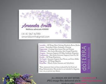 Doterra business cards etsy doterra business card custom doterra business card custom business card doterra essential oil wajeb Choice Image