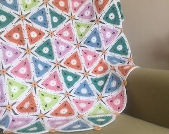 Triangles Lap Blanket