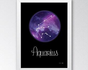 Constellation Astrology Prints A - C