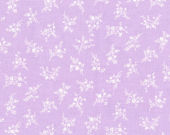 RJR Fabrics - Afternoon in the Attic - Cameo Blossom Lavender by RJR Studio