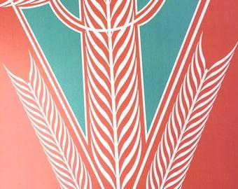 Feathers & Arrows Digital Art Print
