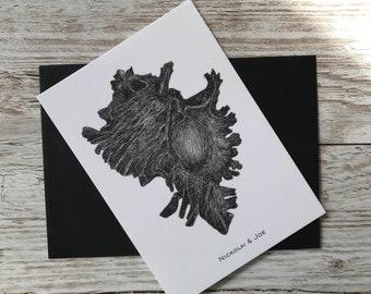 Shell Notecard / Postcard