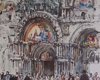 "Donald Art Company Print of Jan Korthals' ""S. Marco Venezia"""