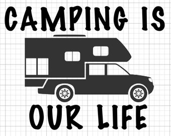 Truck Camper Sticker