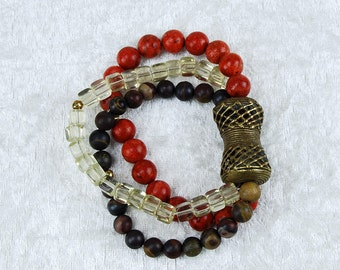 African-style bracelet