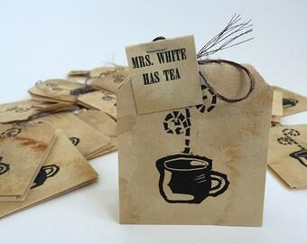 Mrs. White Has Tea