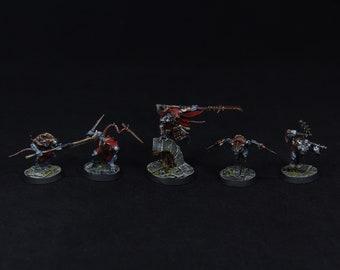 Warhammer Underworlds: Shadespire Spiteclaw's Swarm Elite Painted