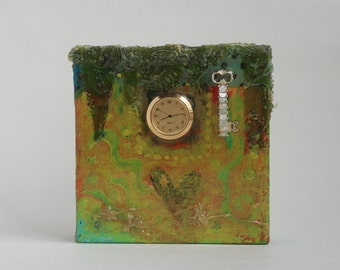 Original Mixed Media Assemblage
