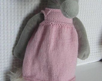 Pink dress for the Wolf Auzou plush Wolf who wanted...