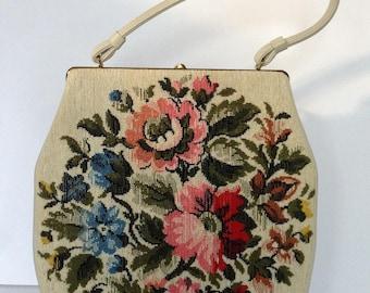 Large Tapestry Handbag by Edwards