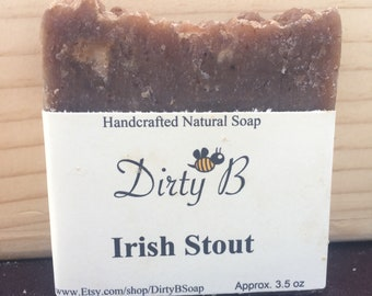 Irish Stout Beer Soap