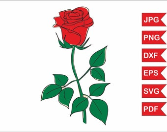 Rose svg file, Rose images, Rose bundle, Rose sign, Rose for cricut, Rose vinyl, Rose stickers, Rose monogram, Rose download, Rose digital