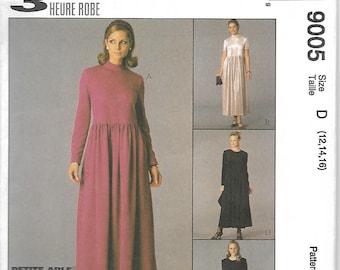 McCall's 9005 Misses/Miss Petite 3 Hour Dress Pattern, Size 12-16, UNCUT