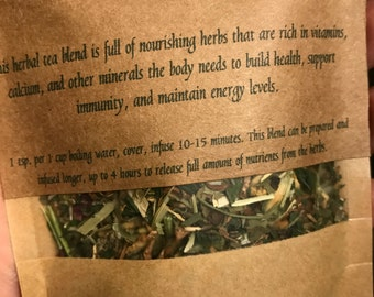 Nourishing Herbal Tea Blend