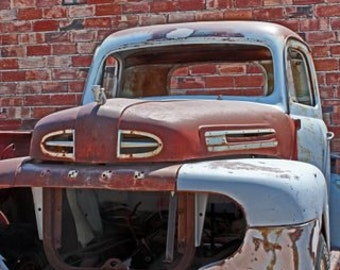 Old Truck - Old Truck Photo - Vintage Photography - Fine Art Photography - Rusty Old Truck - Rusty Truck - Rustic