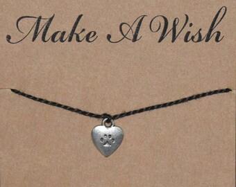Paw Dog Cat Heart Wish Bracelet - Buy 3 Items, Get 1 Free