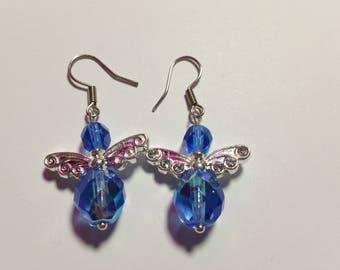 """Earrings """"Angel Blue 2"""""""