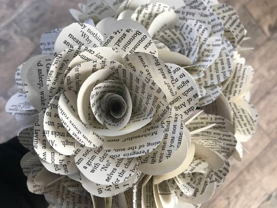 Lord of the rings book roses varying quantity 4 book paper lord of the rings book roses varying quantity 4 book paper flowers from mycottonbranch on etsy studio mightylinksfo