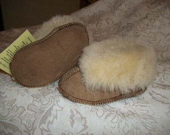 Handcrafted Kids  Sheepskin Slippers ....KIDS Sizes...Small...Medium...Large....NWT
