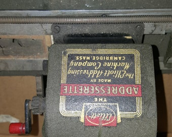 1914 Elliott The Addresserette machine