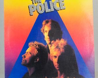 The Police Zenyatta Mondatta 1980 Rock A&M Records Original Vintage Vinyl Record LP