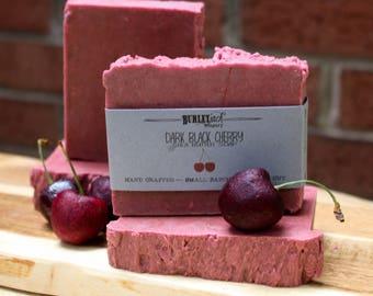 Dark Black Cherry - Shea Butter Soap
