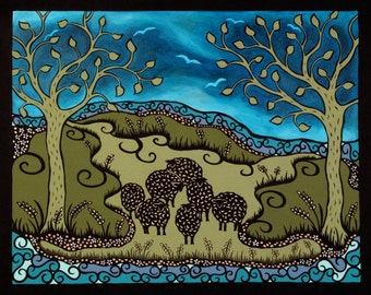 The meadow. Limited edition print