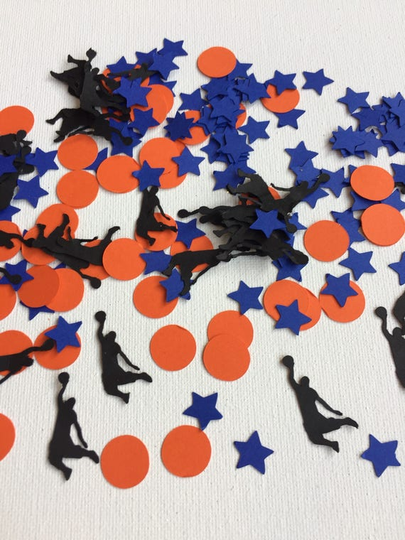 Basketball Confetti, Basketball Baby Shower, Boys Birthday Party  Decorations, Basketball Birthday Party Decor, Boys Birthday Confetti From  Ritzywreaths On ...