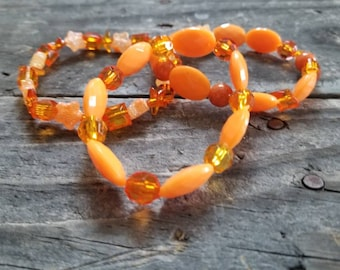 Kidney Cancer Orange Awareness Bracelet ~Free Shipping