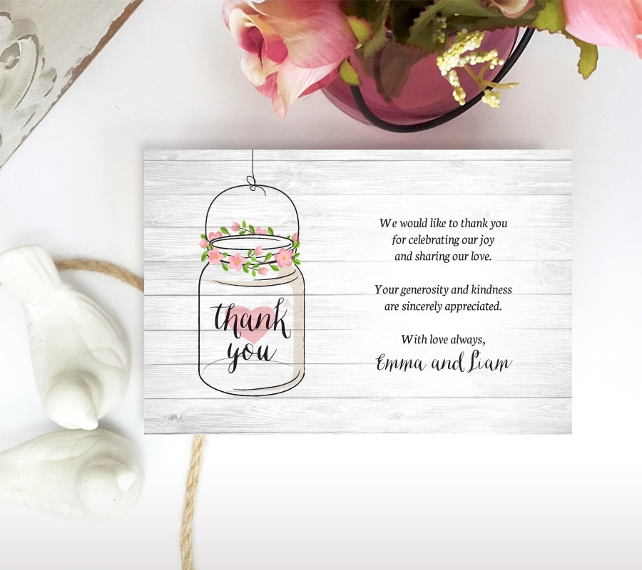 zoom - Engagement Thank You Cards