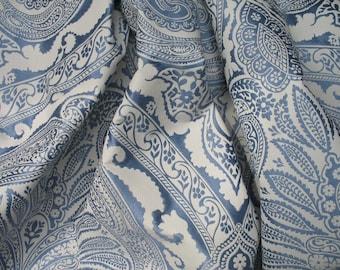 Nina Campbell Khitan Woven Damask Fabric priced per meter