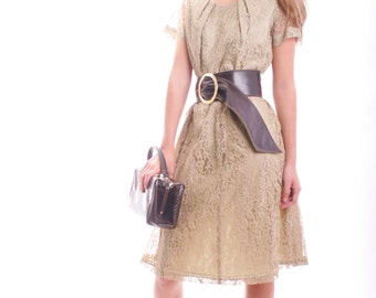 FREE US SHIPPNG I look This Good Everyday Vintage Lace Dress