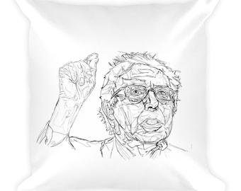 Feel the Bern - Custom Bernie Sanders Art Pillow